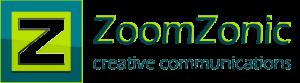 Logo Zoom Zonic creative communications